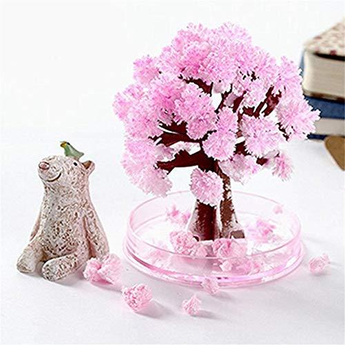 ToDIDAF DIY Magic Flowering Paper Tree, Sakura Papierbaumblüte, künstliche Topfpflanzen für Heimtextilien, gutes Geschenk für Kinder