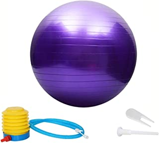 Thickening Total Body Balance Ball Kit - Includes Anti-Burst Stability Exercise Yoga Ball