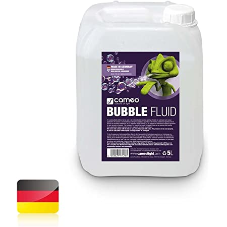 Cameo Fluide anti-brouillard très haute densité et très longue durée de vie. Fluide bulles 5 Liter