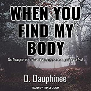 When You Find My Body audiobook cover art