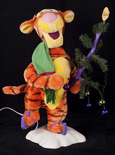 Telco Animated Disney Tigger Christmas Tree Motion-ette Doll
