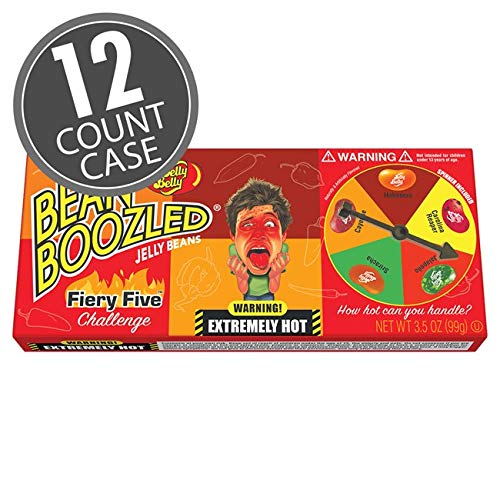 Jelly Belly BeanBoozled Fiery Five Spinner Gift 1 2021 new oz Box New life 3.5 -