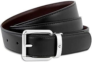 MontBlanc 万宝龙 男式 腰带 112961 黑色/棕色 120 * 3cm