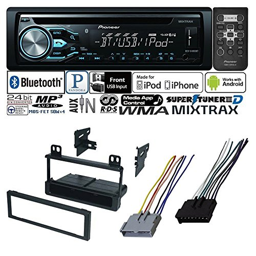 CAR RADIO STEREO CD PLAYER DASH INSTALL MOUNTING KIT HARNESS FOR FORD LINCOLN MERCURY 1995 - 2008