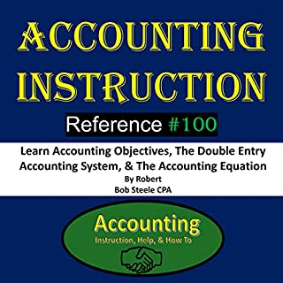 Accounting Instruction Reference #100 audiobook cover art