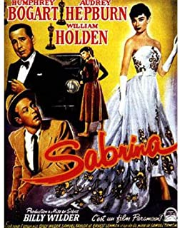 Hotstuff Sabrina (1954) Movie Poster Audrey Hepburn Humphrey Bogart Vintage Style 12