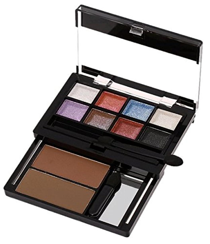 緩む保持する選択MakeupAcc ムースアイメイクパレット アイシャドウとアイブロウの組み合わせ (03) [並行輸入品]