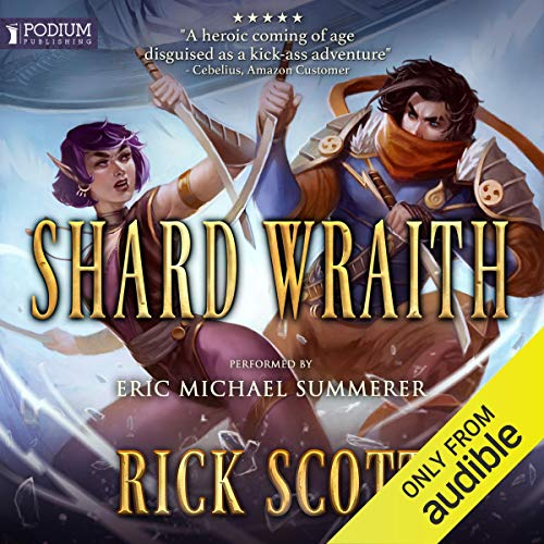 Shard Wraith audiobook cover art