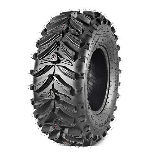 Maxauto 1PC ATV Tires 27x10-12 27x10x12 AT Mud Sand All-Terrain Tires ATV 6 PLY Tires
