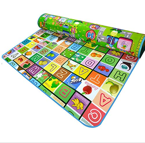 N\C Baby Crawling Mat, Baby Play Blanket, Children Crawling Mat, Both Indoor and Outdoor