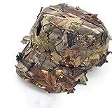 OAREA Airsoft Tactical Woodland Foglie Camo Sniper Boonie Cappelli Militari per Uomini/Camouflage Caccia Traspirante Parasole Cappellini da Baseball