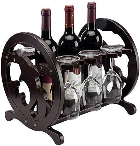 HJXSXHZ366 estante de vino montado en la pared europeo creativo hierro forjado vino almacenamiento titular taza vidrio cocina bar vidrio soporte de exhibición pequeño estante de vino