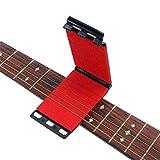 Artibetter Nettoyant pour cordes et nettoyant pour guitares électriques et acoustiques (Rouge)