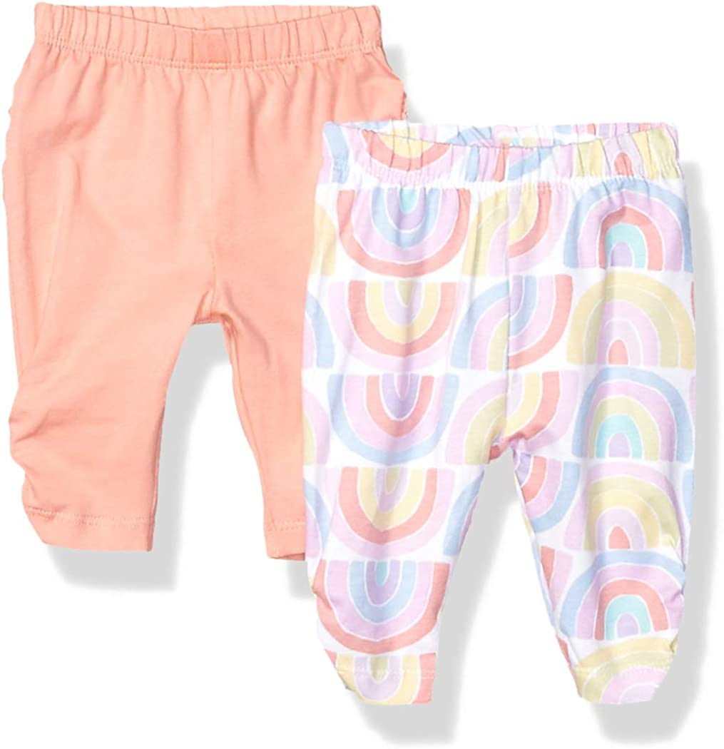 The Children's Place Baby Girls 2 Pack Legging Set 2117421, CORALCRUSH, UPTO7LBS: Clothing, Shoes & Jewelry