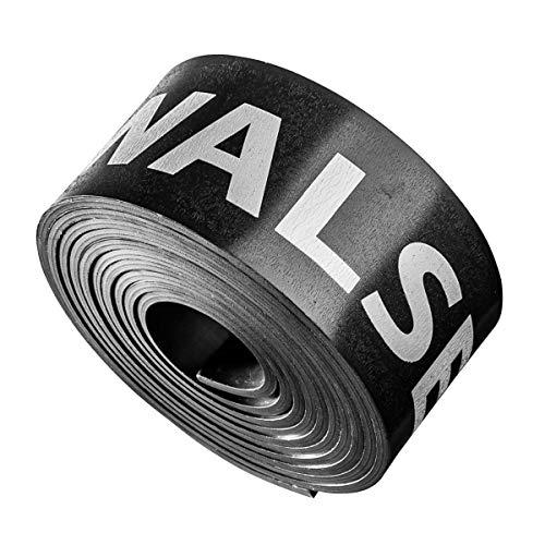 Walimex pro Magnet-Beschwerungsband 3cm, 1,35m – für Papierhintergründe und Stoffhintergründe, verhindert ungewolltes Aufrollen