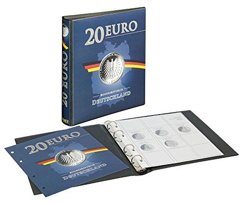 Lindner 1520 Vordruckalbum 20 Euro-Silbermünzen Bundesrepublik Deutschland