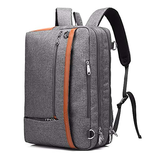 Lirui Rugzak 17 3-inch laptop-rugzak Multifunctionele grote capaciteit reistas student rugzak voor meisjes in tieners jongens Grey-B