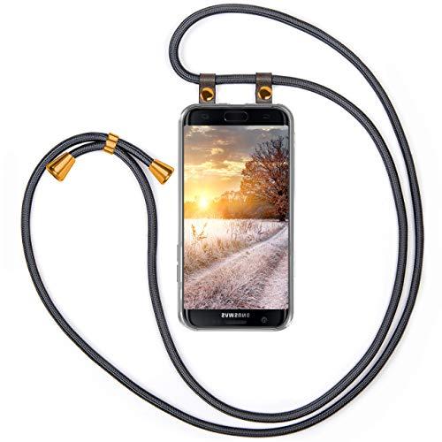MoEx - Funda para Samsung Galaxy S7 Edge (con cordón)