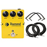 Diamond CPR-1 Compressor - Opto Comp and EQ Pedal w/ 4 Cables