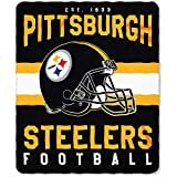 Pittsburgh Steelers Offizielle NFL Decke, Fleecedecke in