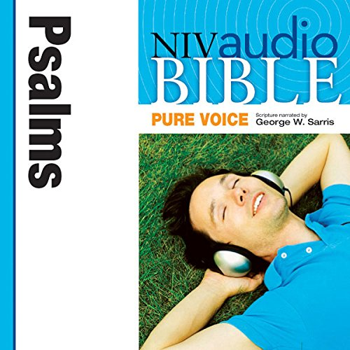 NIV Audio Bible, Pure Voice: Psalms audiobook cover art