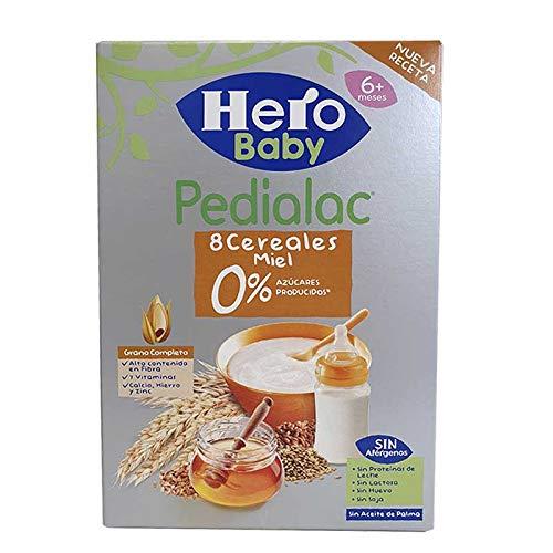 Hero Pedialac 8 Cereales miel 0% Azúcares 340 g