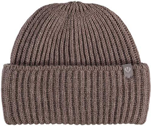 FRAAS Damen Mütze, 24 x 20 cm, Kaschmir Taupe