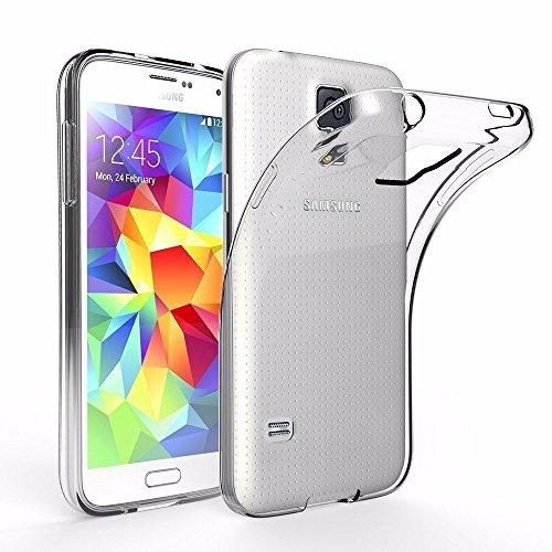 Samsung Galaxy S5/S5Neo Fall, iPro Zubehör Galaxy S5/S5Neo Clear Gel Fall, Ultra–dünn [transparent] Galaxy S5/S5Neo klar Silikon Gel-Schutzhülle (Samsung Galaxy S5/S5Neo Fall)