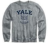 Ivysport Yale University Bulldogs Crewneck Sweatshirt, Heritage, Charcoal Grey, X-Large