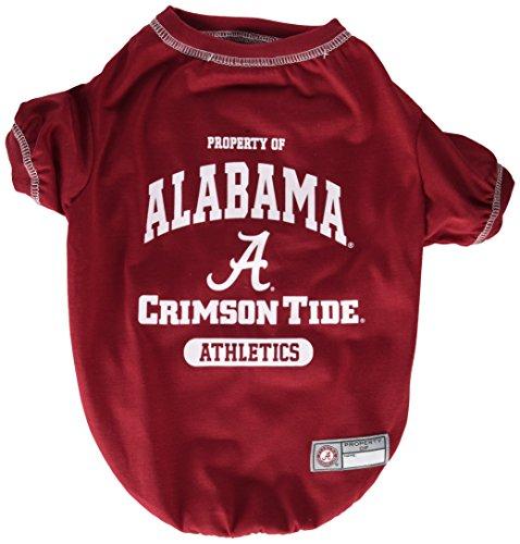 NCAA Alabama Crimson Tide Dog T-Shirt, Medium