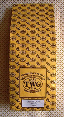 TWG Tea - Jasmine Queen Tea (TWGT4025) - 17.63oz / 500gr Loose Leaf BULK BAG