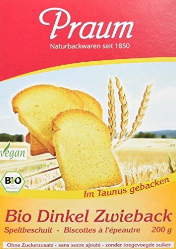 Praum Bio Dinkel Zwieback (1 x 200 g)