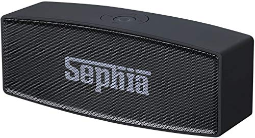 Sephia A11 - Altavoz Bluetooth para iPhone, iPod, iPad, Samsung, portátiles y Reproductores MP3
