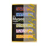 B. Toys Aozora Dot Musee Multi-Color Crayon Stick - Set of 6