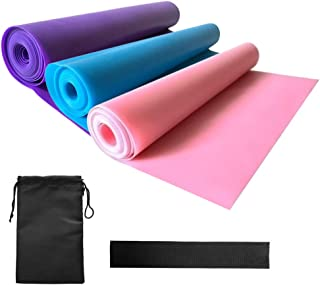 3pcs Resistance Bands Set with Door Anchor and Carry Bag Elastic Exercise Workout Bands for Women Men Fitness Strength Tra...