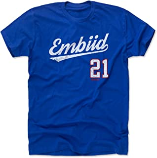 Joel Embiid Shirt - Philadelphia Basketball Men's Apparel - Joel Embiid Script