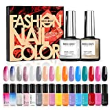 Best Nail Polish Sets - Modelones Gel Nail Polish Set - 16 Bright Review