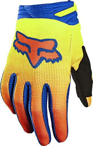 Fox Yth 180 Oktiv Glove Yellow Ym