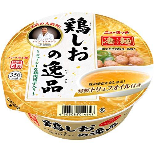 ニュータッチ凄麺鶏しおの逸品112g×12個