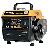 TogoPower Portable Generator 1000 Peak Watts 120 Volts Gasoline Powered - CARB Compliant for Backup Home Use&Camping-Small Power Gas Outdoor Generator