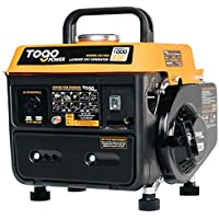 TogoPower 1000 Peak Watts 120 Volts Gasoline Powered Portable Generator