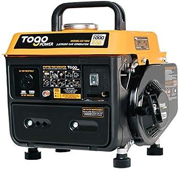 TogoPower 1000 Peak Watts 120 Volts Gasoline Powered Portable Generator
