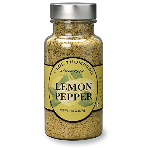 Olde Thompson Lemon Pepper Seasoning Spice 11.9 Ounce