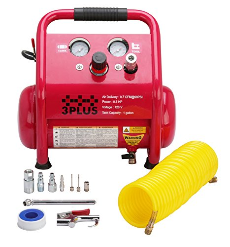 3PLUS HCB0504M02 1 Gallon Air Compressor