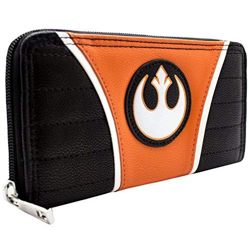 Cartera de The Empire Strikes Back Star Wars Alianza rebelde Naranja