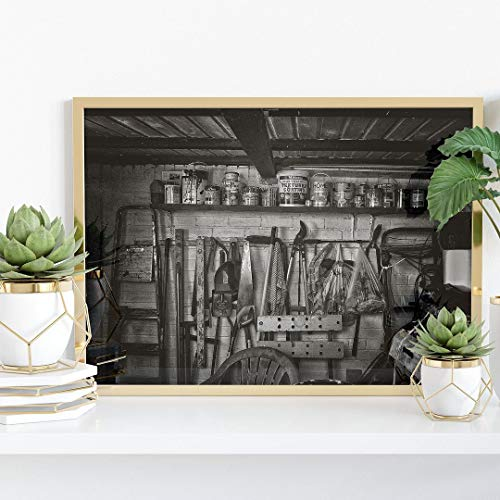 Shed Wall Print - 5' x 7' - Modern Wall Art Home Decor Picture Poster - 5x7 inch Photo Size (12.7 x 17.78cm)