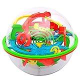 3D Laberinto Rompecabezas de la Bola del Juguete 100 Barreras Laberinto Mágico intelecto Bola del Balance Laberinto Rompecabezas de la Bola