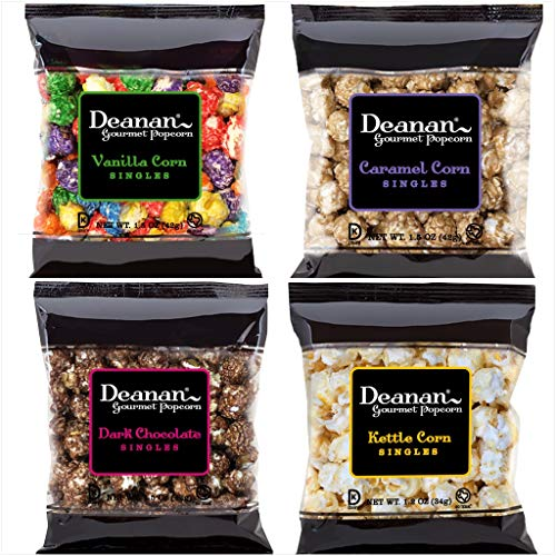 Deanan - 12 count box of Assorted Popcorn Sweet Singles (1.2 & 1.5 oz each)