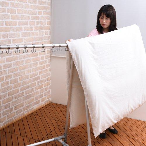 tsubasa『アルミ製折りたたみ式A型伸縮布団干し』
