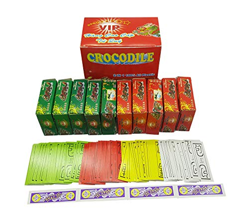 Asian Four Color Playing Cards: red Yellow Blue White. Vietnam Call bai tu sac or Four Color Cards Chinese. Cards 10 Pack Small with Length 2 inch. This is an Asian Card Game Funny Playing Cards.